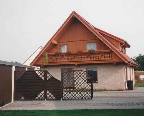 Huis gebouwd door Quackels Woningbouw in Duitsland.