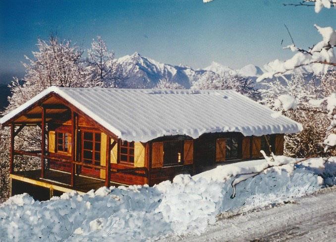 Huis gebouwd door Quackels in Chamonix