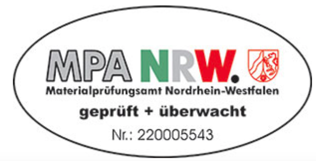 Duits kwaliteitslabel van de bouwfirma Quackels Woningbouw