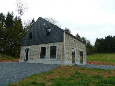 Woning van Quackels Woningbouw in de Ardennen