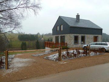 Ardeense woning gebouwd in de Ardennen door Quackels Woningbouw