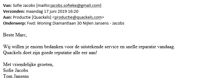Sofie Jacobs - Aftersales
