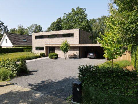 Kubistische woning gebouwd door Quackels Woningbouw